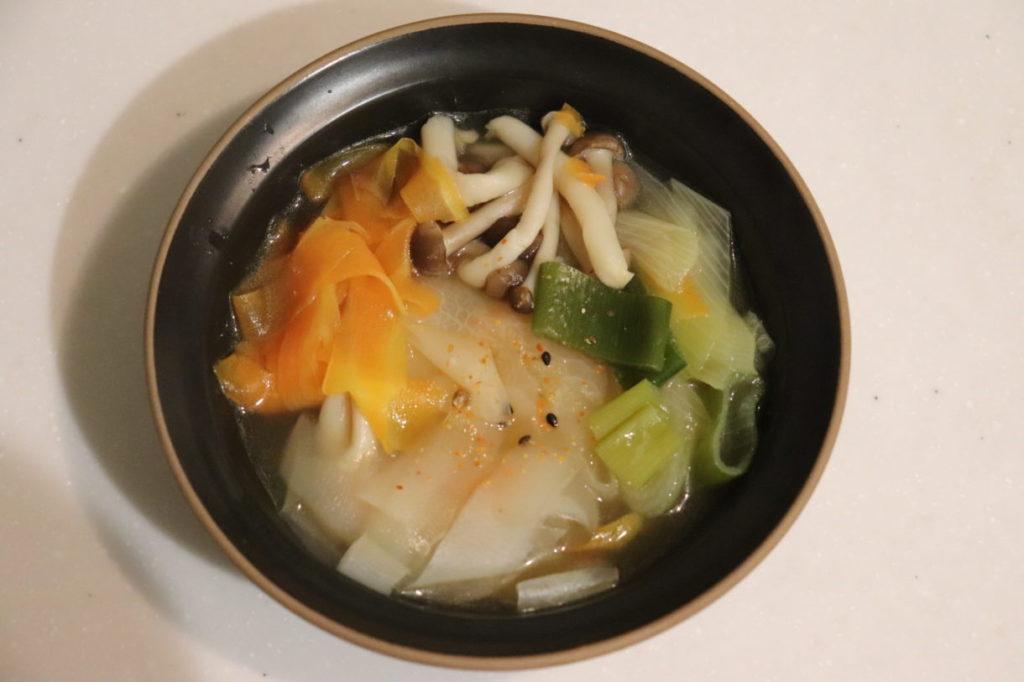根菜のひらひら鍋